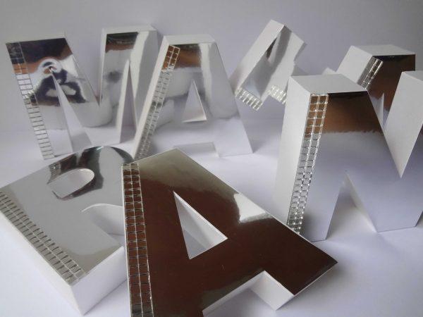 Letra 3D -6